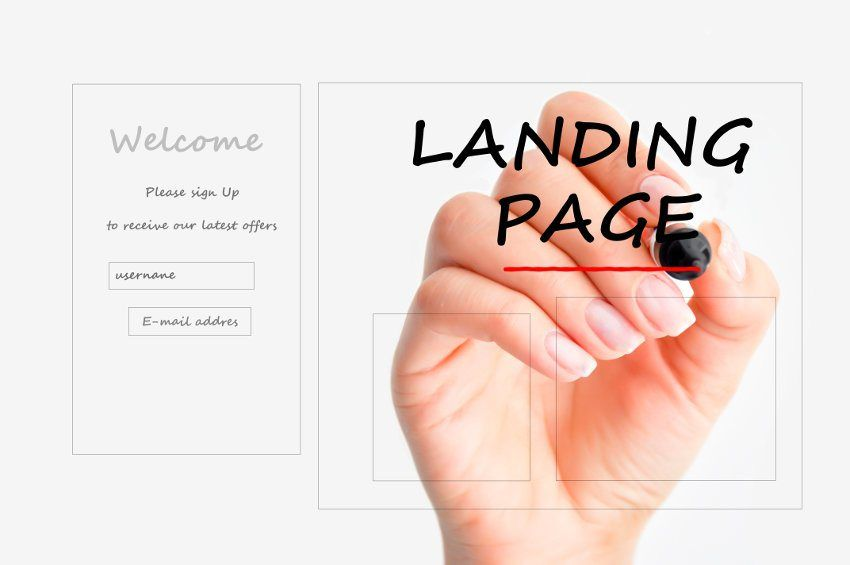 34 Awesome landing page design tips images