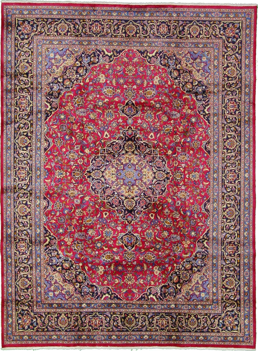 Burgundy 9 8 X 13 0 Mashad Rug Persian Rugs Esalerugs Persian Rug Rugs Antique Persian Carpet