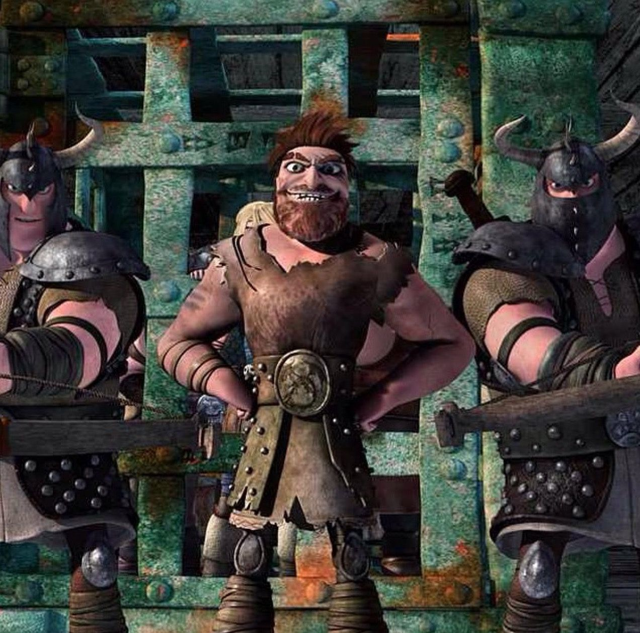 Dagur From Dreamworks Dragons: Race To The Edge. He's