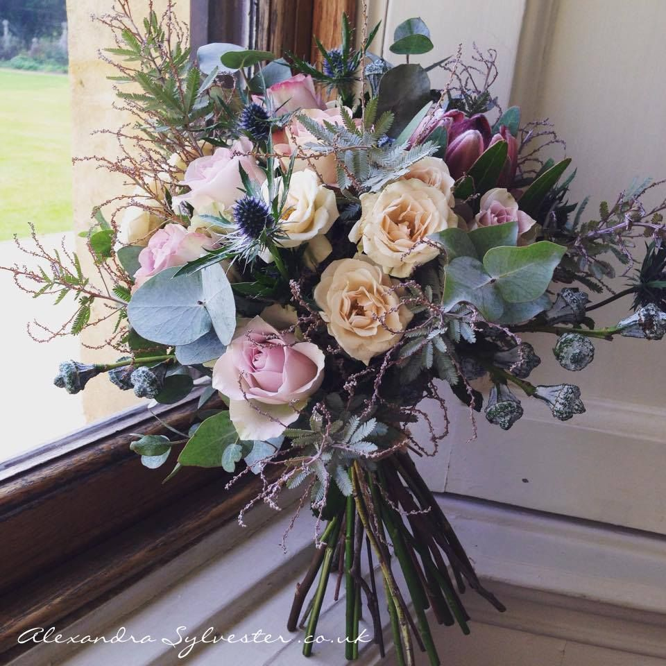 Rose Protea And Acacia Bouquet Winter Wedding Bridal Bouquet Wedding Bouquets Wedding Time