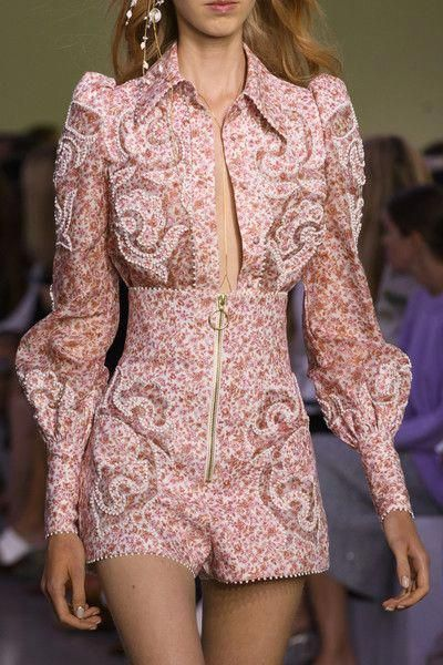 Zimmermann at New York Fashion Week Spring 2018 – Details Runway Photos #ZackWom… #runwaydetails