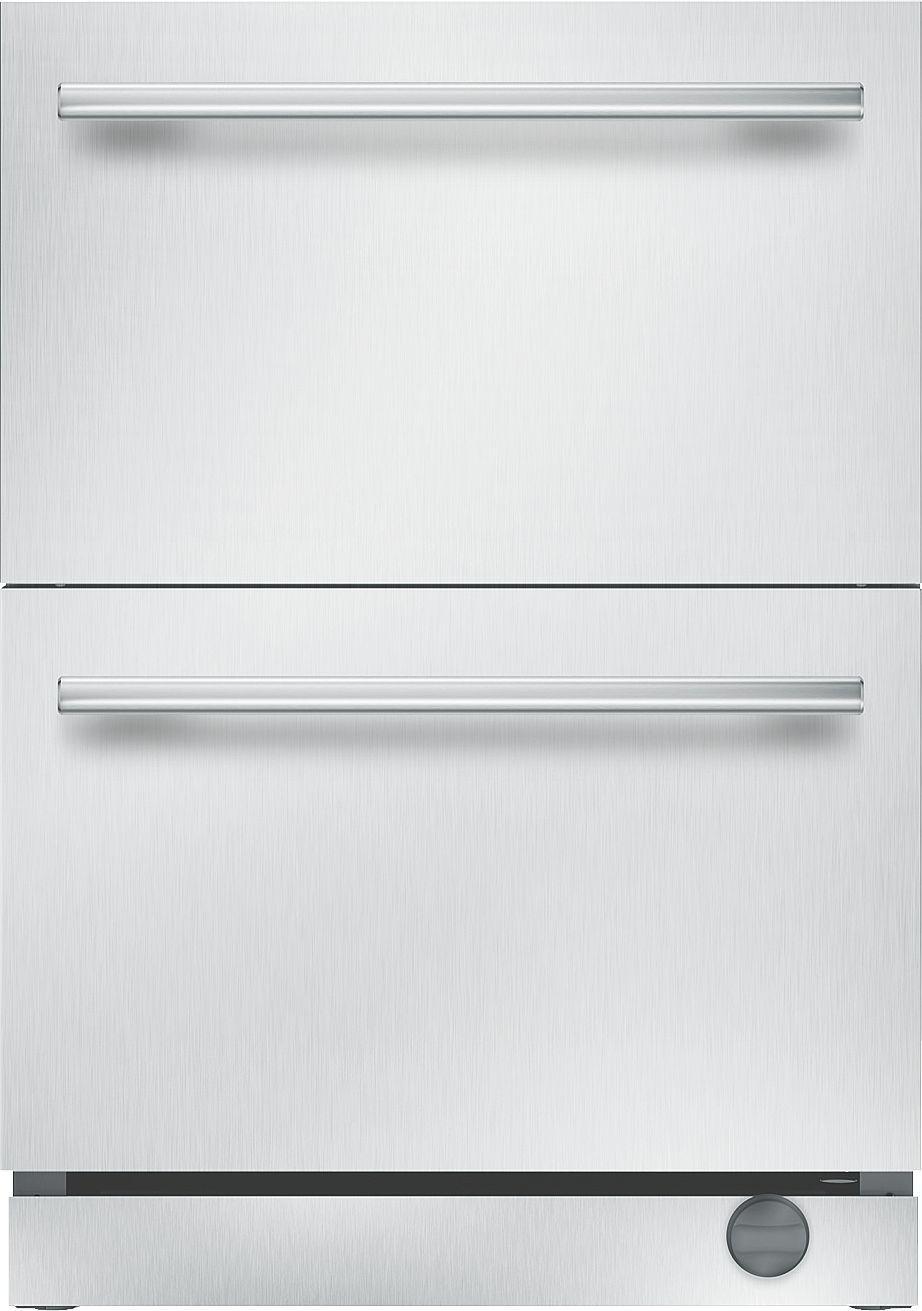 24Inch UnderCounter Double Drawer Refrigerator/Freezer