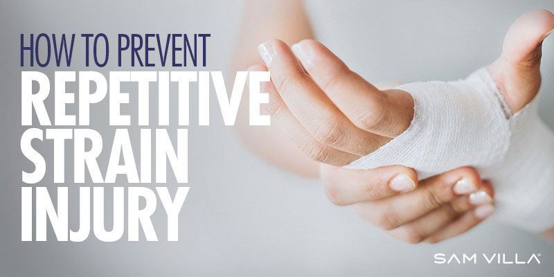 Hairdressers how to prevent repetitive strain injury