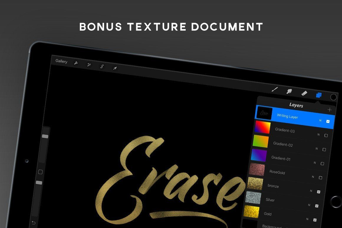 Brushscript Bundle For Procreate