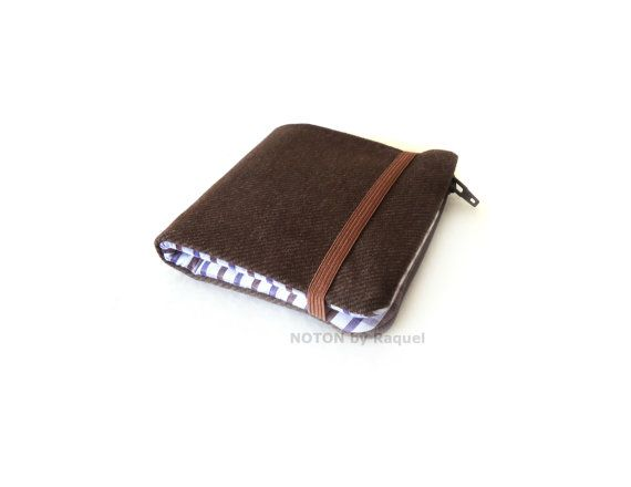 $32.00  Men's Billfold Wallet in Brown and White, by NOTON by Raquel