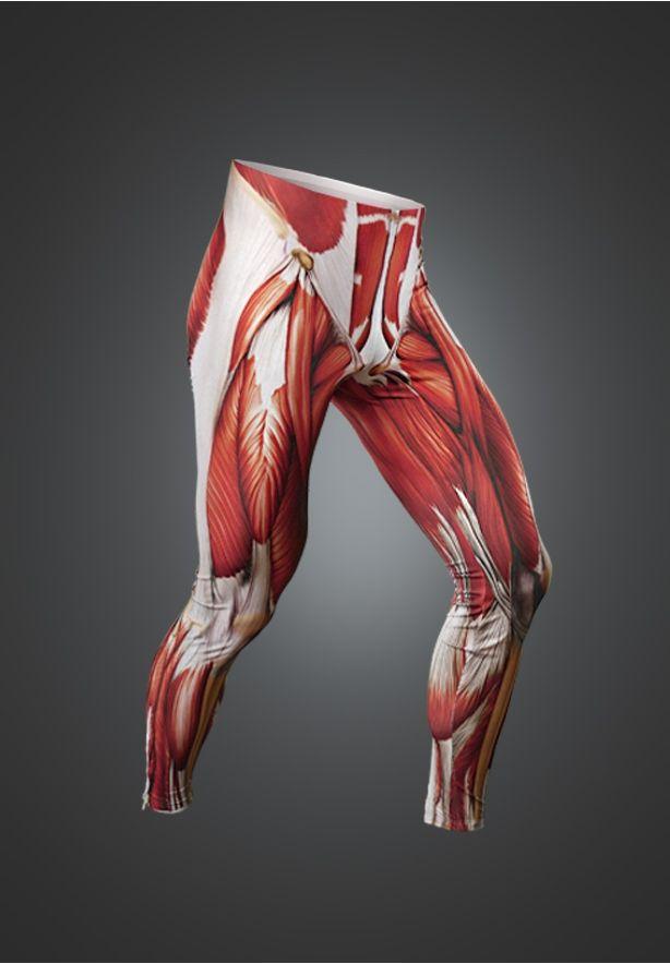 Muscle Skin Suit Leggings | Style | Pinterest | Muscles