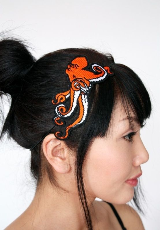 Anatomical hearts and octopuses  funky headbands for yo  head ... a760a904b8d