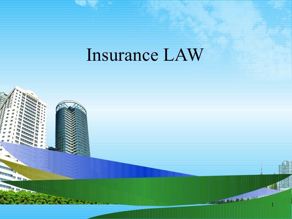 Insurance Law Ppt Bec Doms By Babasab Patil Via Slideshare