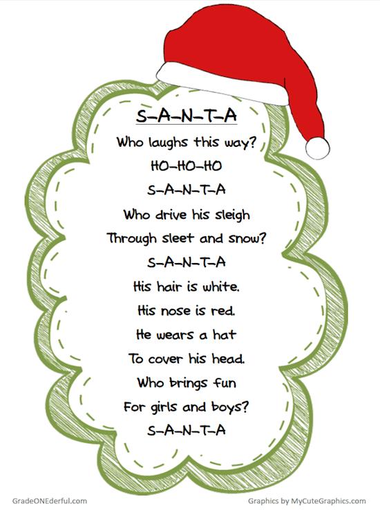 Free Christmas Poem Printable Christmas Poems Christmas Concert Ideas Christmas Kindergarten
