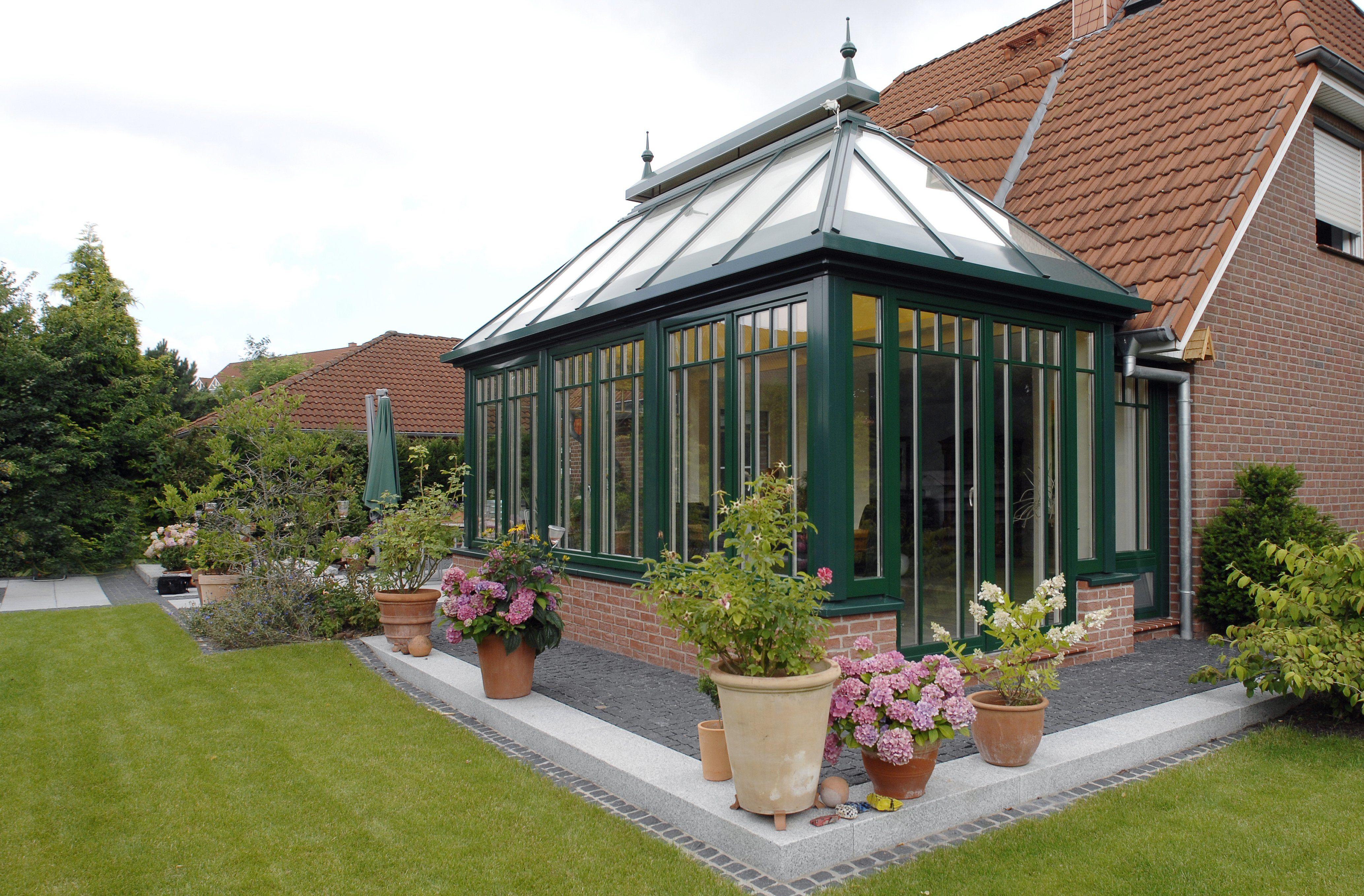Englische Wintergärten wintergarten wg 0225 klassischer englischer wintergarten in grün