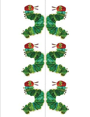 free Very Hungry Caterpillar templates | 1 year bday party | Pinterest