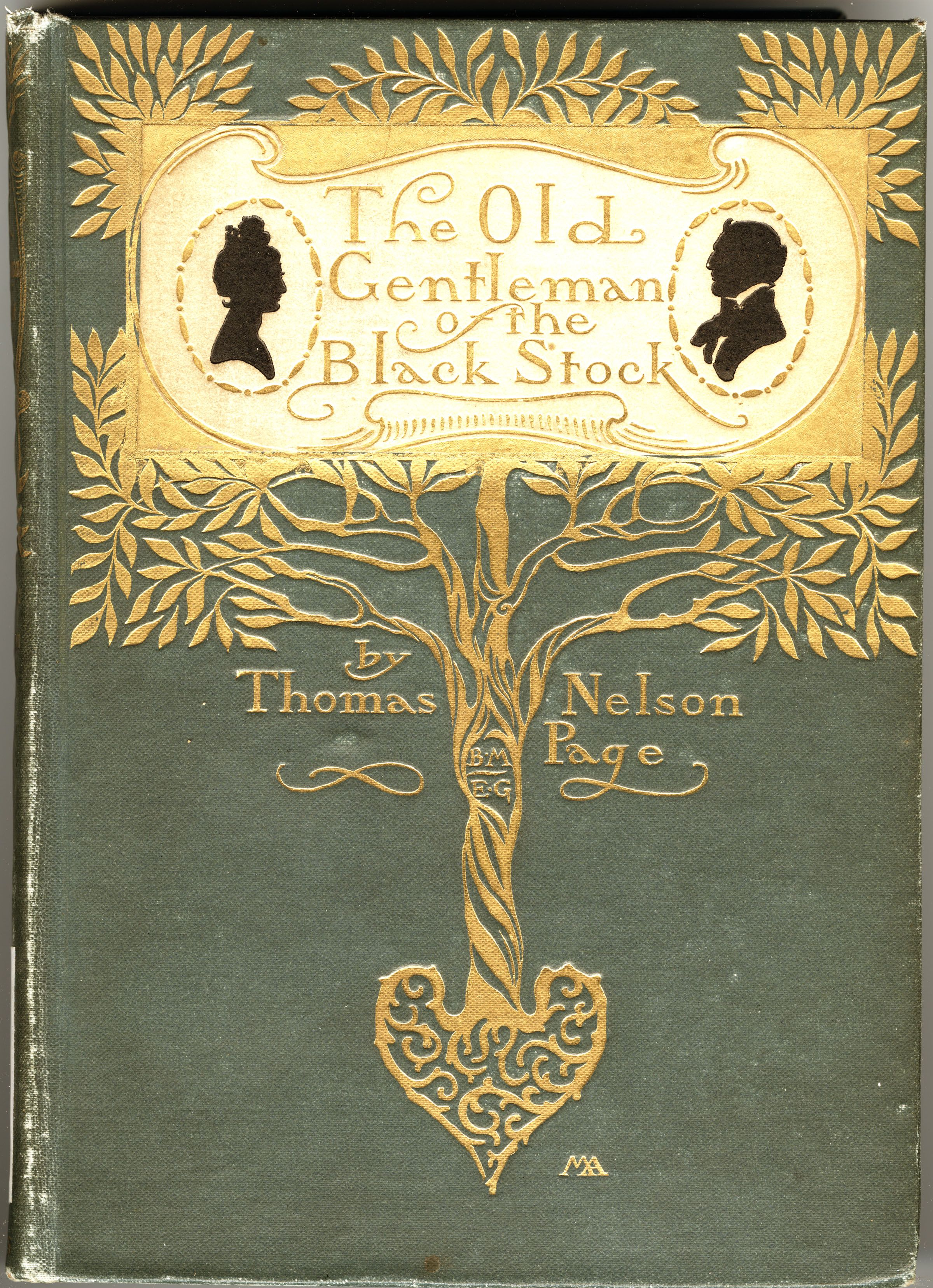 The Old Gentleman Of The Black Stock By Thomas Nelson Page Illustrated By Howard Chandler Christy Book Cover Art Book Cover Illustration Vintage Book Covers