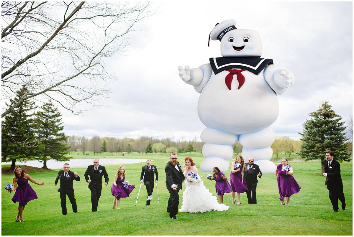Ghostbusters wedding photo by Arynn Photography Toronto Wedding ...