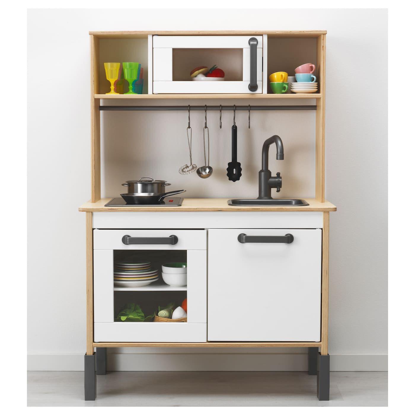 """DUKTIG Play kitchen birch 28 3/8x15 3/4x42 7/8 """" in 2020"""