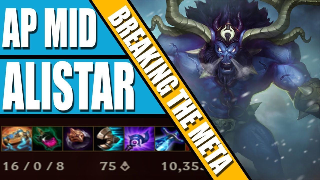 Breaking The Meta: AP Mid Alistar - Perfect 16-0 Game