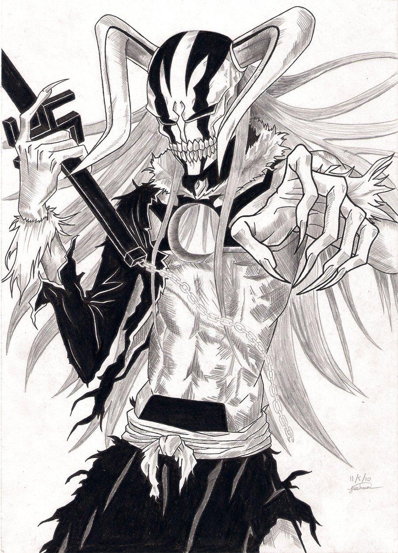 Ichigo Hollow Form 2 Sketch by jdgonline on DeviantArt