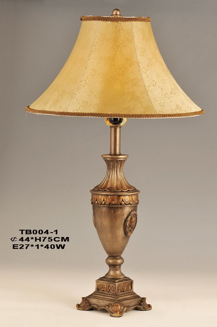 Lamps home table lamps european table lamps for Table lamp bases wholesale