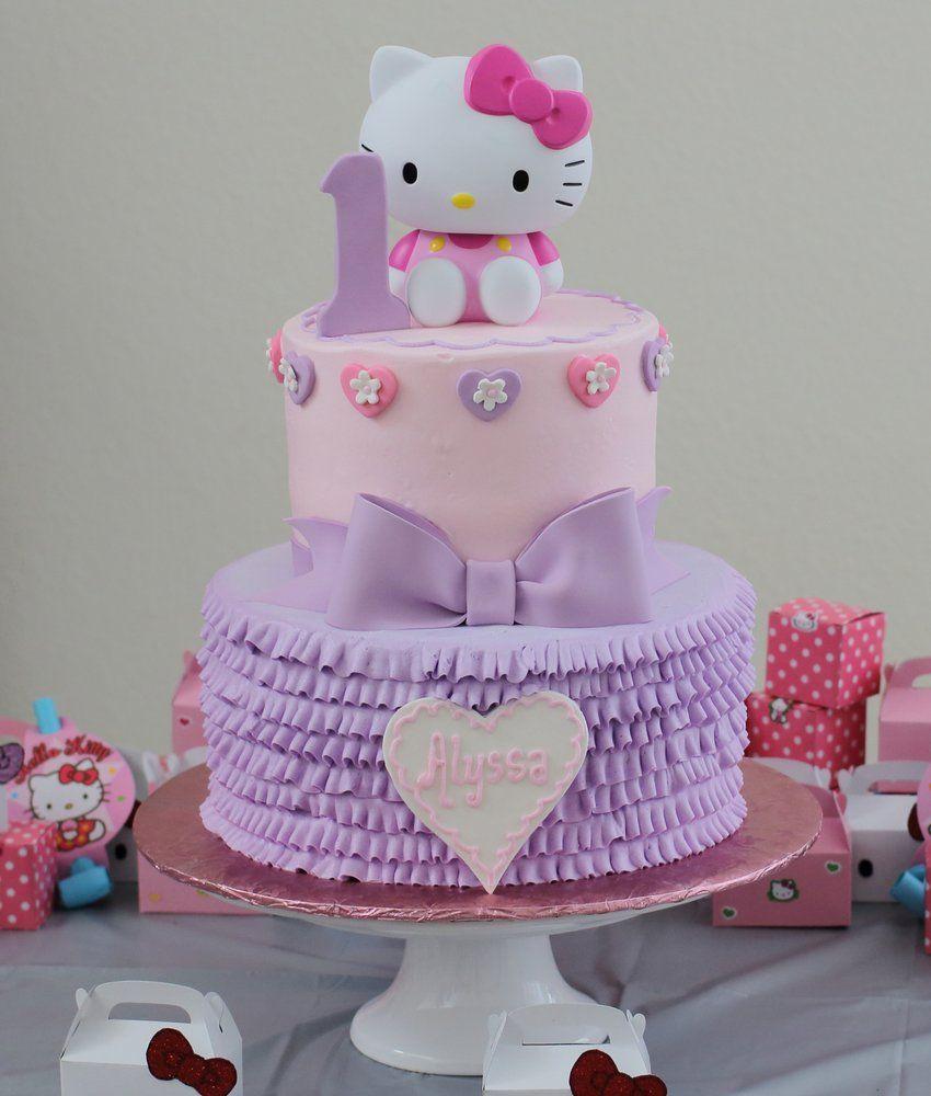 Pleasant Hello Kitty Birthday 1St Birthday Google Search With Images Personalised Birthday Cards Veneteletsinfo