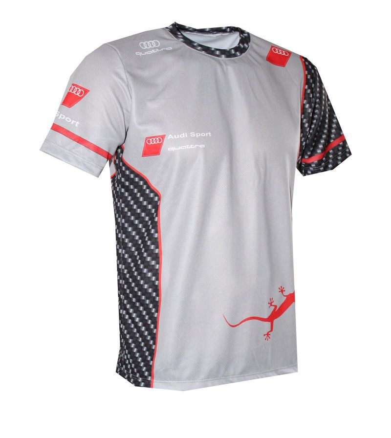 4cb1f10dc3b57 Audi S-Line - Full Sublimation Print T-shirt maglietta camiseta   DTM  quattro 2  fanwear  GraphicTee