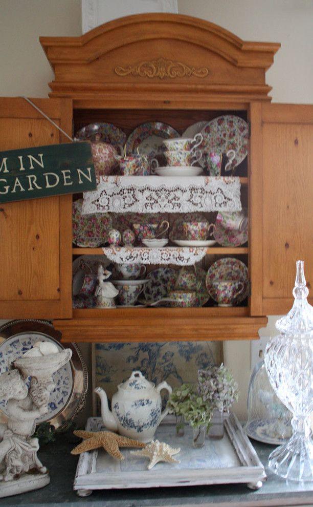 Sweet decorated cupboard