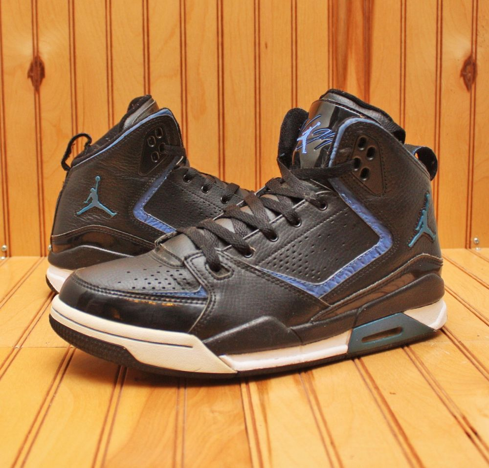huge selection of c3ba8 4d119 2011 Nike Air Jordan SC-2 Size 8 - Black Varsity Royal Blue White - 454050  006  Nike  BasketballShoes