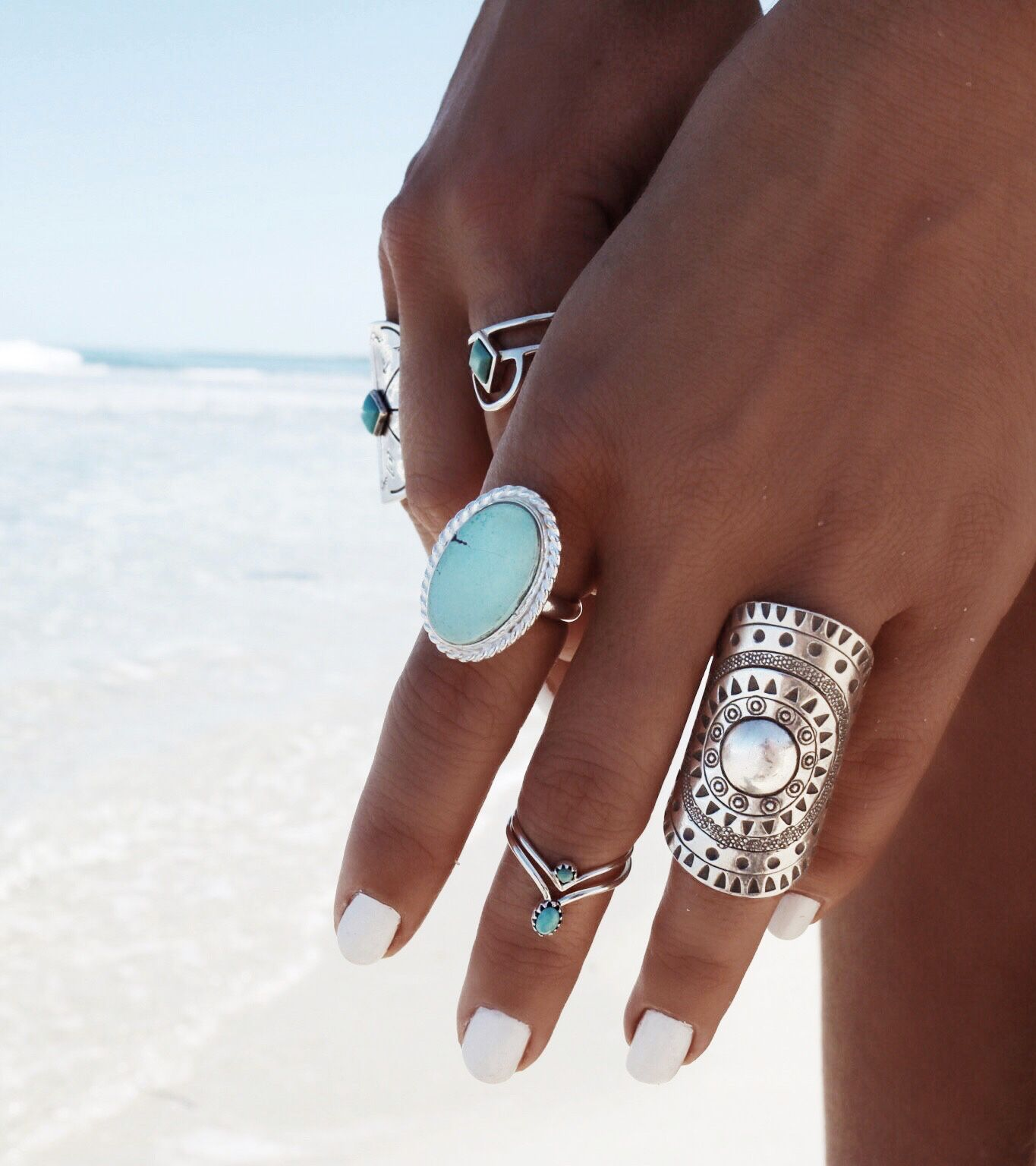 Turquoise Zone Lone Mountain Turquoise Ring