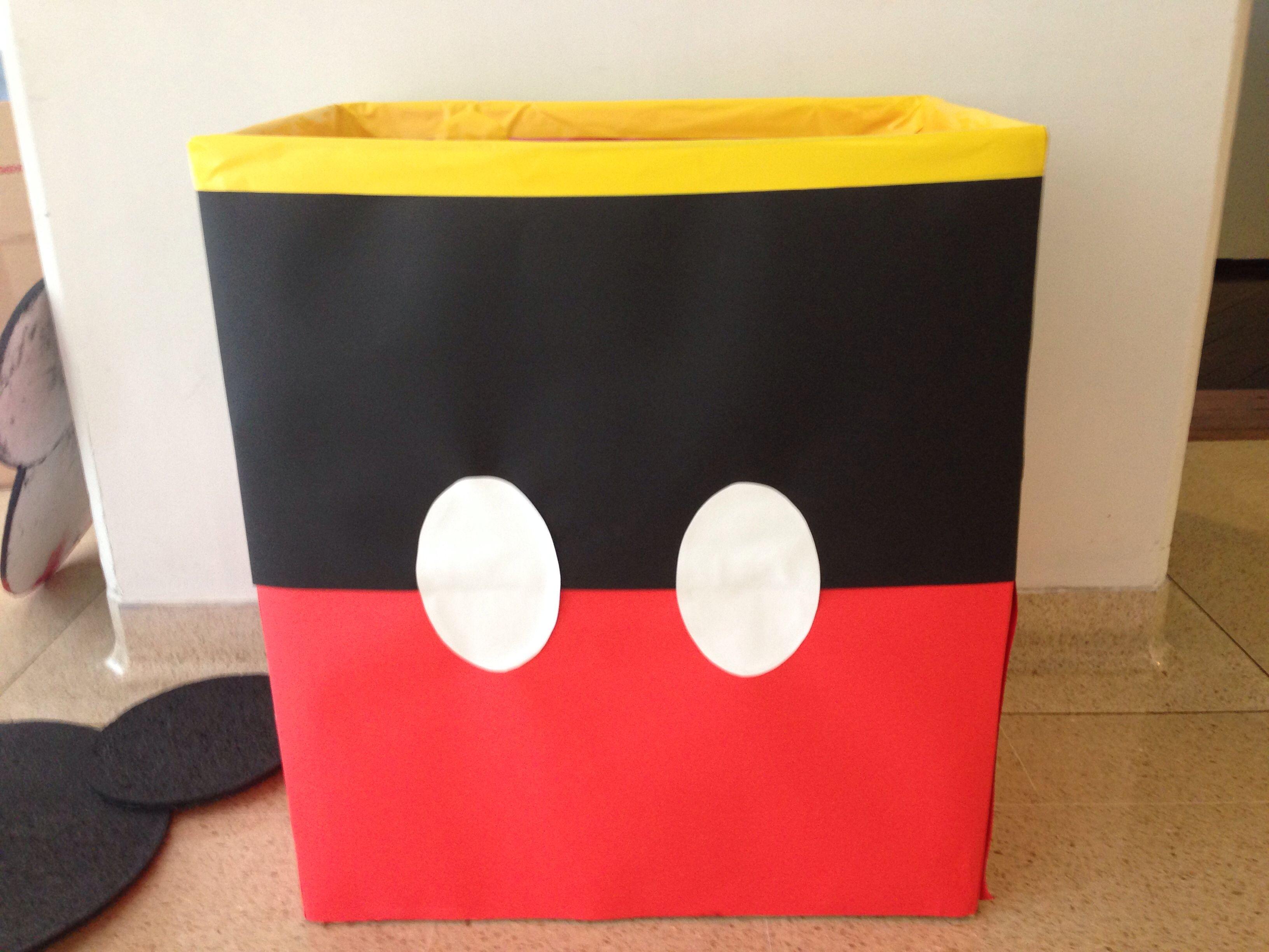 Caja de regalos de mickey mi casa en 2019 disney party for Casa regalo