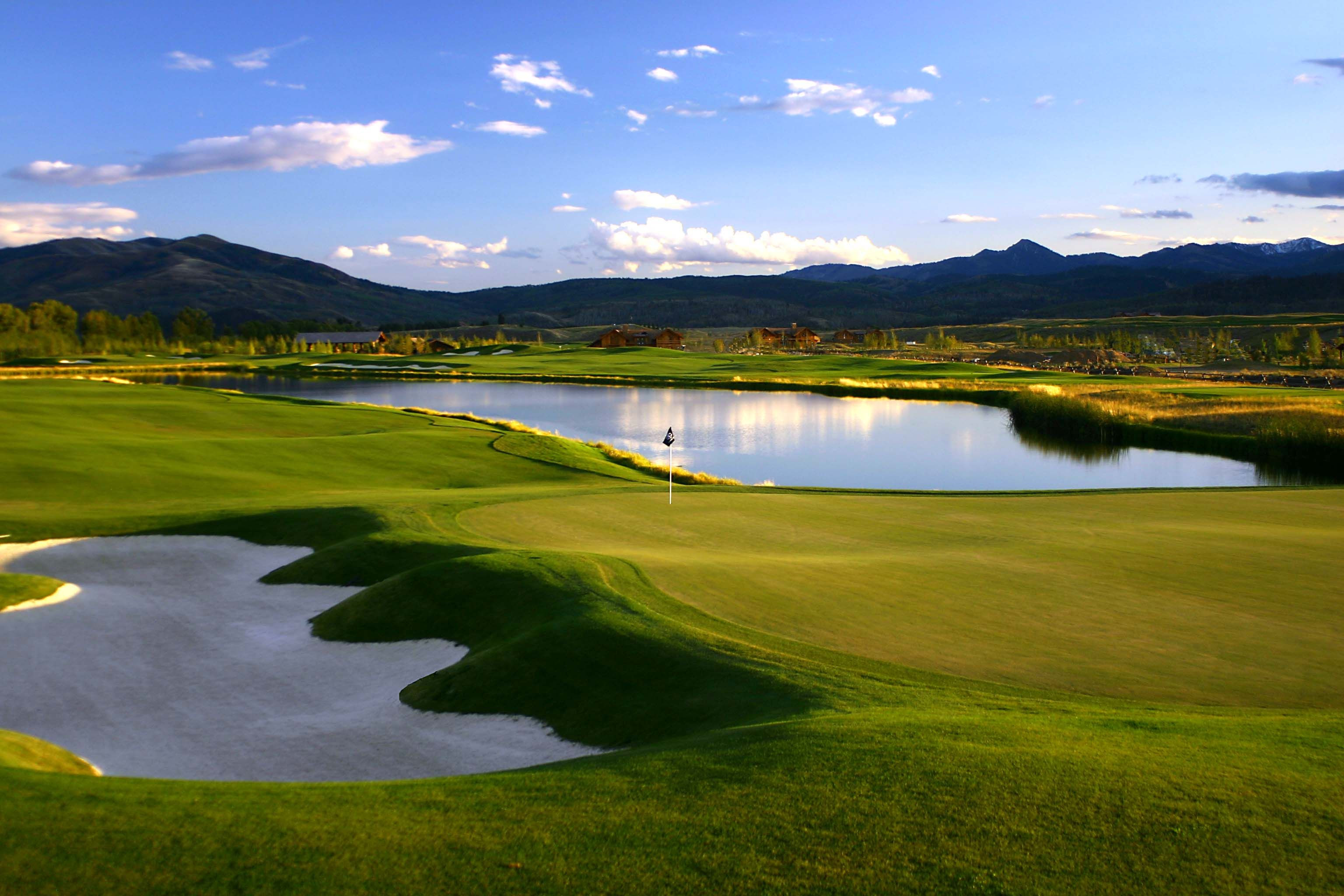 Green At Hole 11 3 Creek Ranch Golf Club Golf Courses Golf Golf Clubs