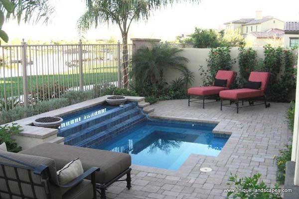 25 Fabulous Small Backyard Designs With Swimming Pool Small