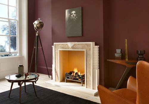 Manteau de cheminée traditionel / en marbre THE HULANICKI ART DECO ...