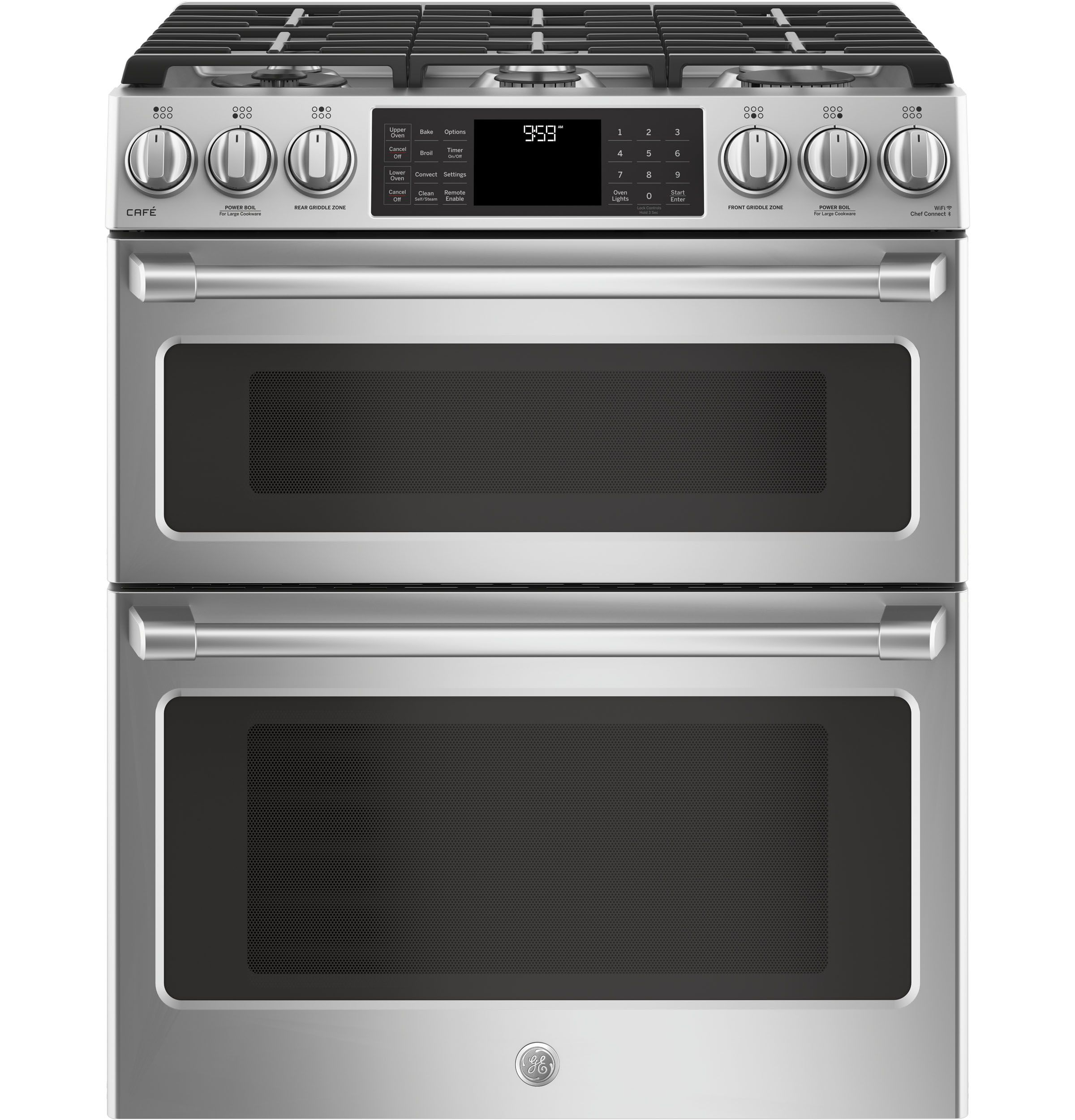 Slide In Gas Double Oven