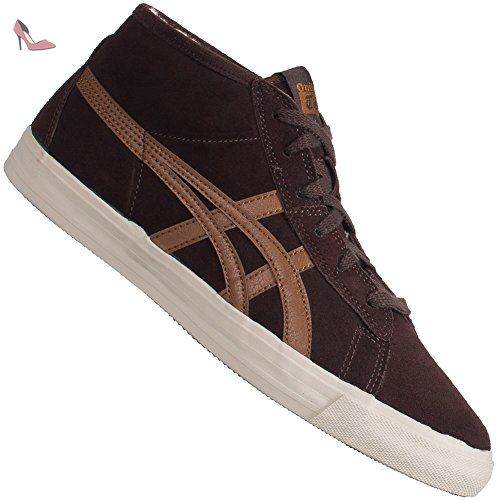 Fur Brown 47 Chaussures Tiger Dark Onitsuka Fader Asics 5 zwEHqv7c
