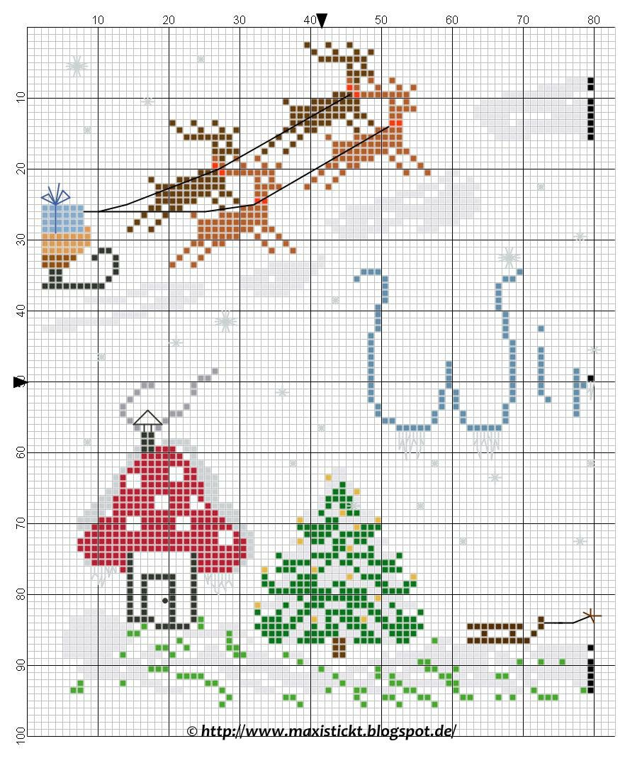 Pin von Sue Pelley auf Christmas stitching | Pinterest ...