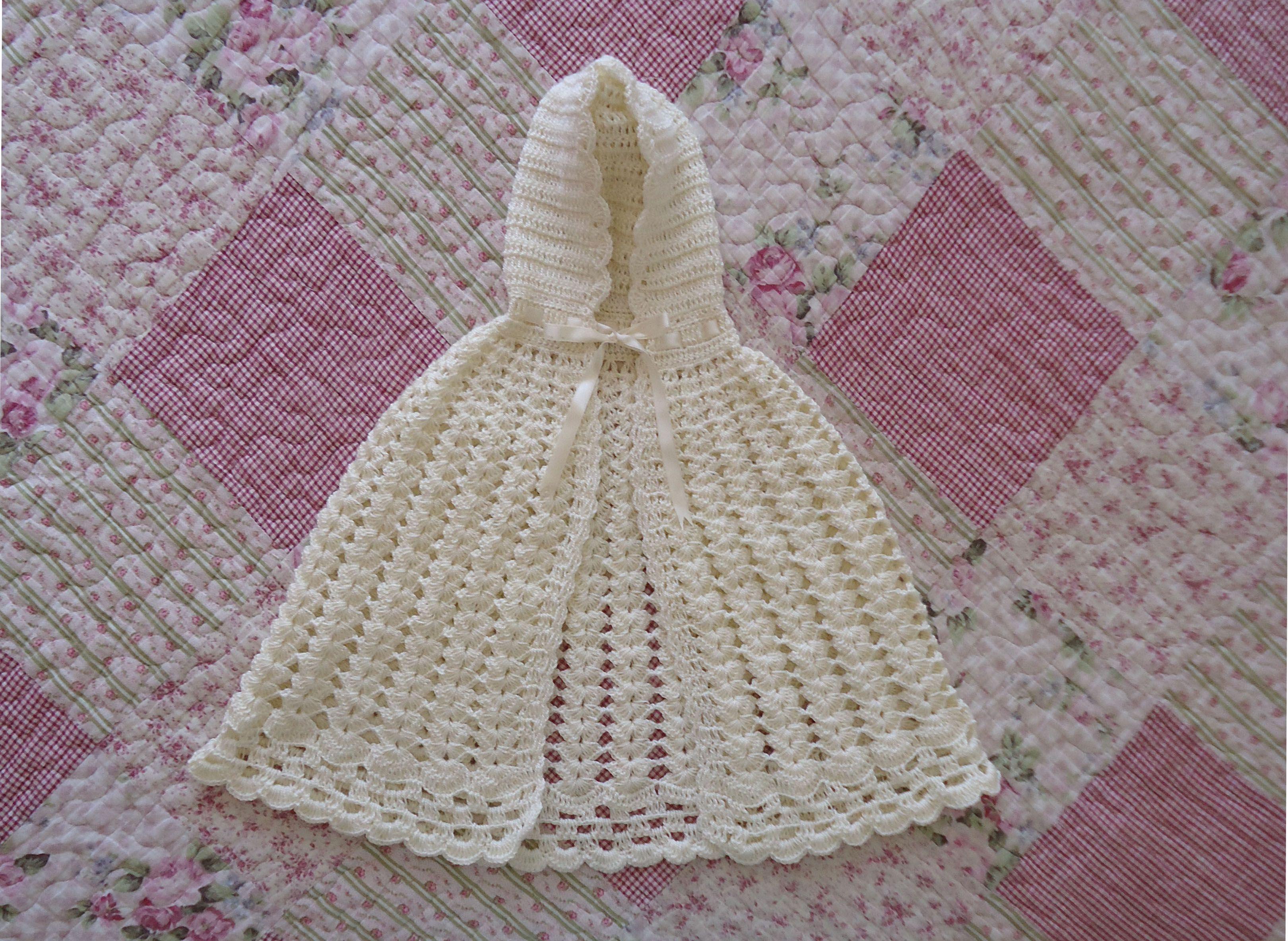 Único Patrón De Vestido De Crochet Libre Recién Nacido Colección de ...