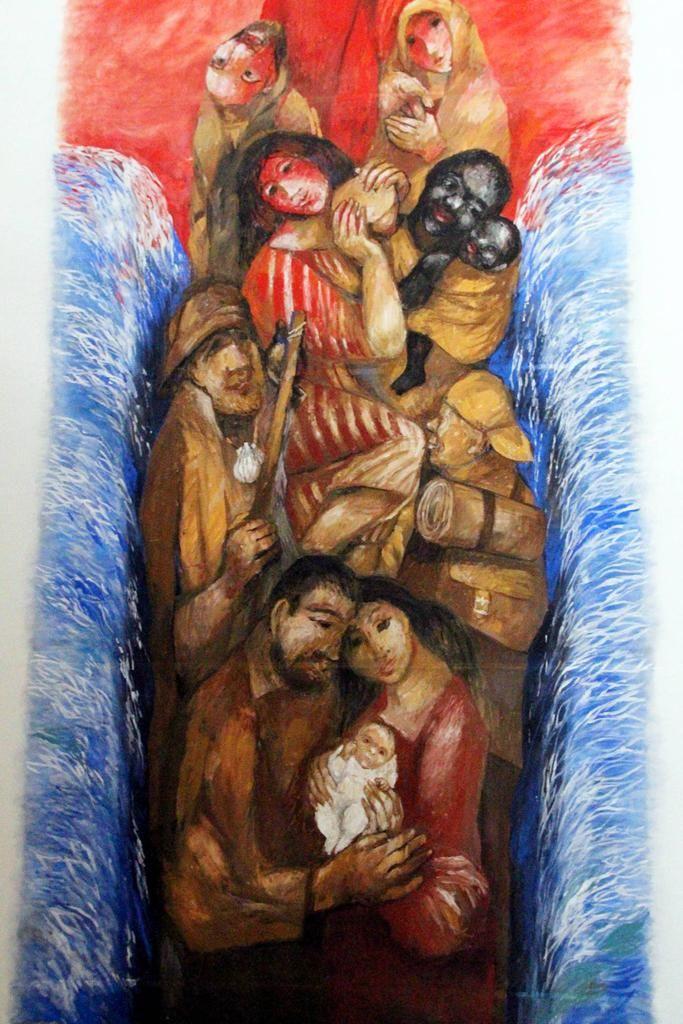 Sieger Köder - Exodus | Bible Art Journaling | Pinterest | Glaube ...