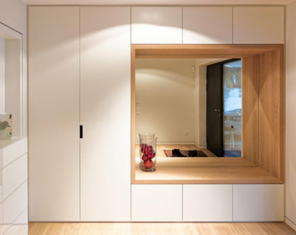Pin Von Carina Schirmbock Auf Entry Garderobe Modern Garderoben Eingangsbereich Einbauschrank