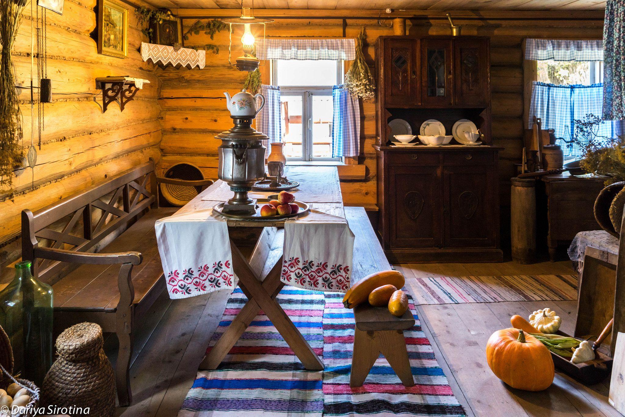 Картинка картинки русская изба