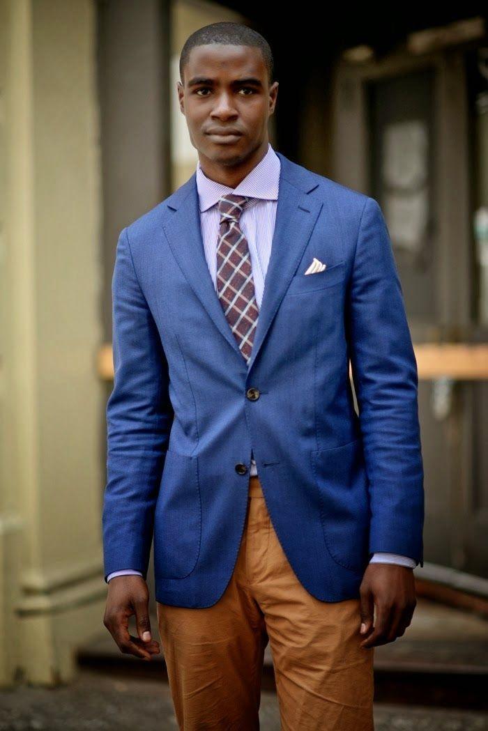 Pin De Tendencia Gq En Outfit Blazer Azul Intenso Chaquetas Trajes Blazer