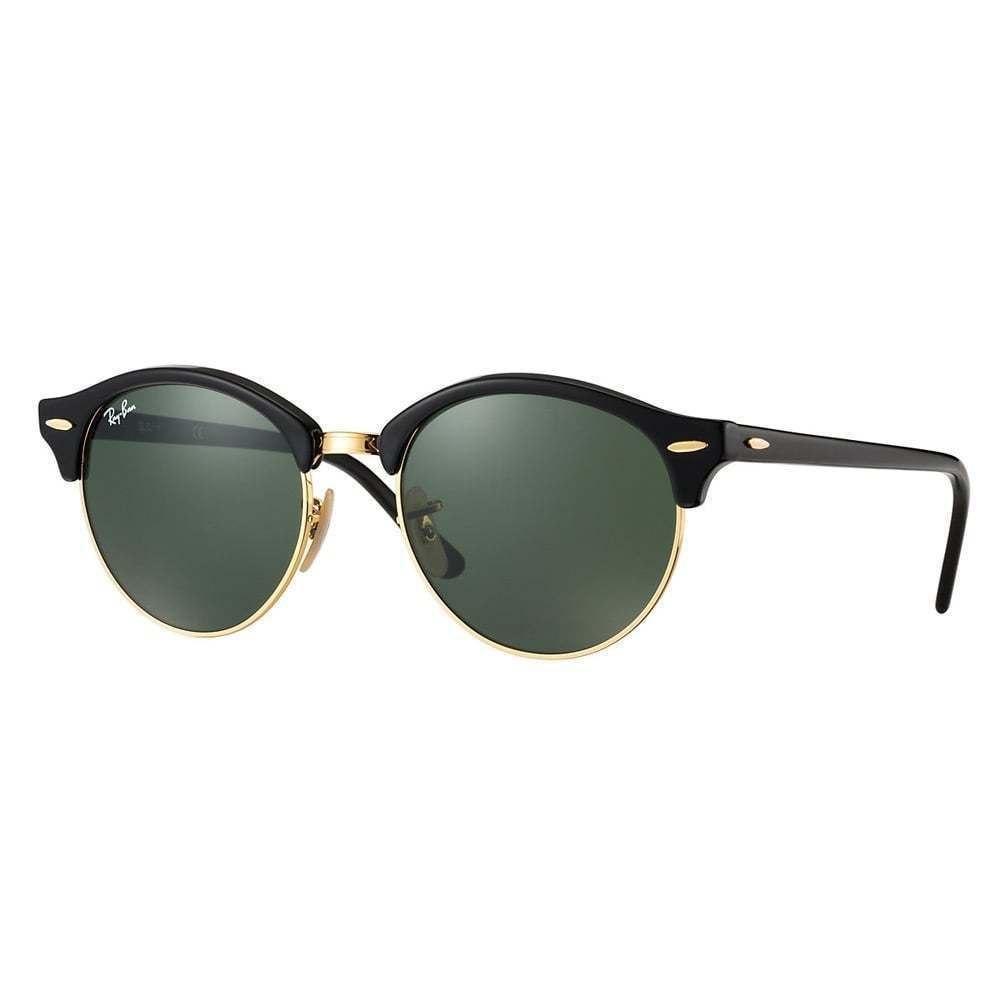 Ray-Ban RB4246 901 Clubround Frame Green Classic 51mm Lens ...