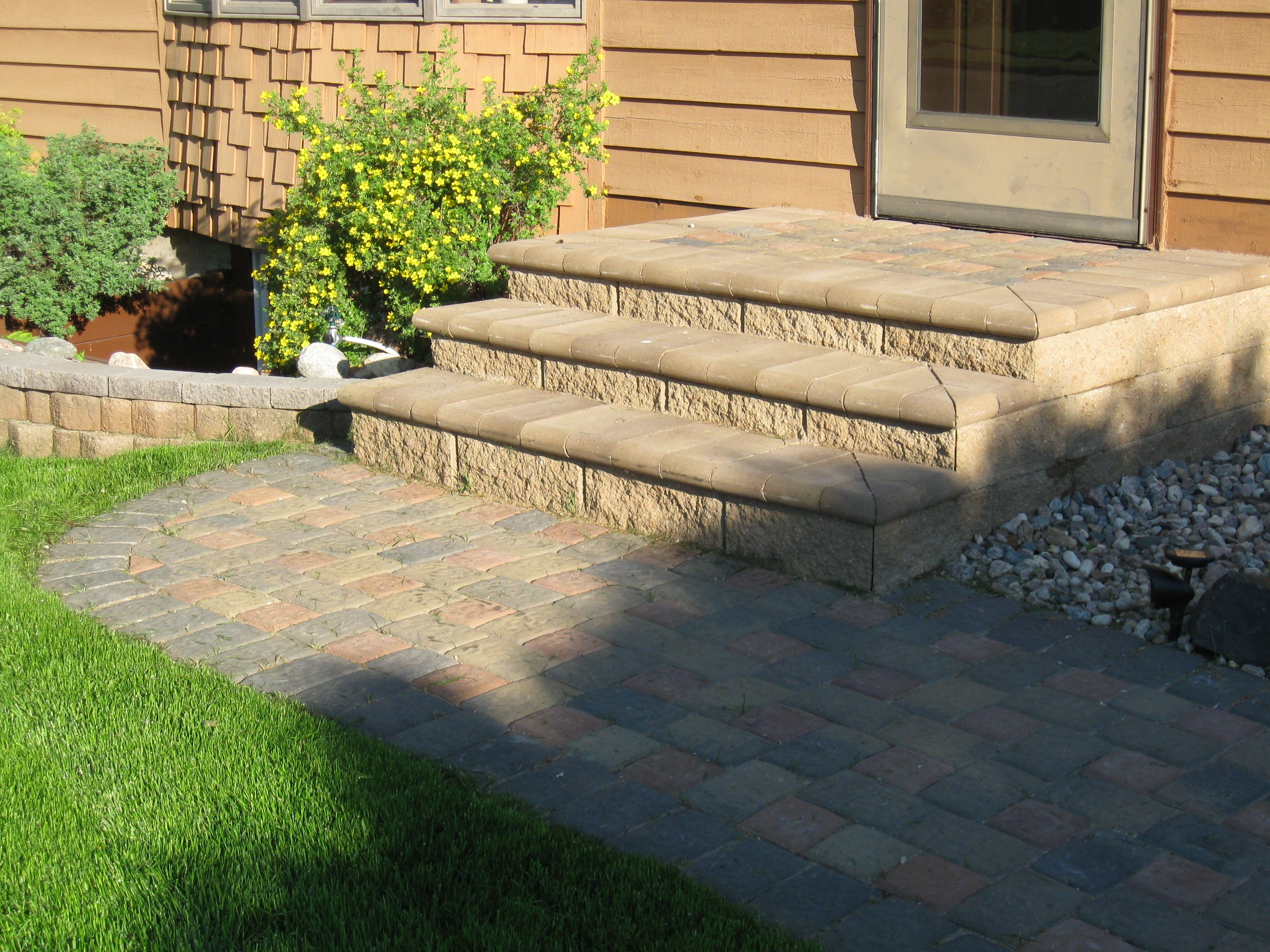 Outdoor Pavers Castle Hill : Paver patio designs project cobble