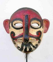 Indonesian Masks | ... Indonesia: Exclusive Interview: Mark Johnson on Indonesian art