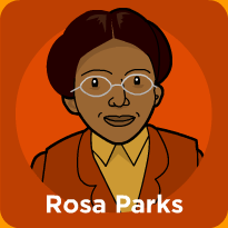 rosa parks lesson plans and lesson ideas brainpop educators mlk rh pinterest com Rosa Parks Clip Art Black and White Rosa Parks Clip Art Border
