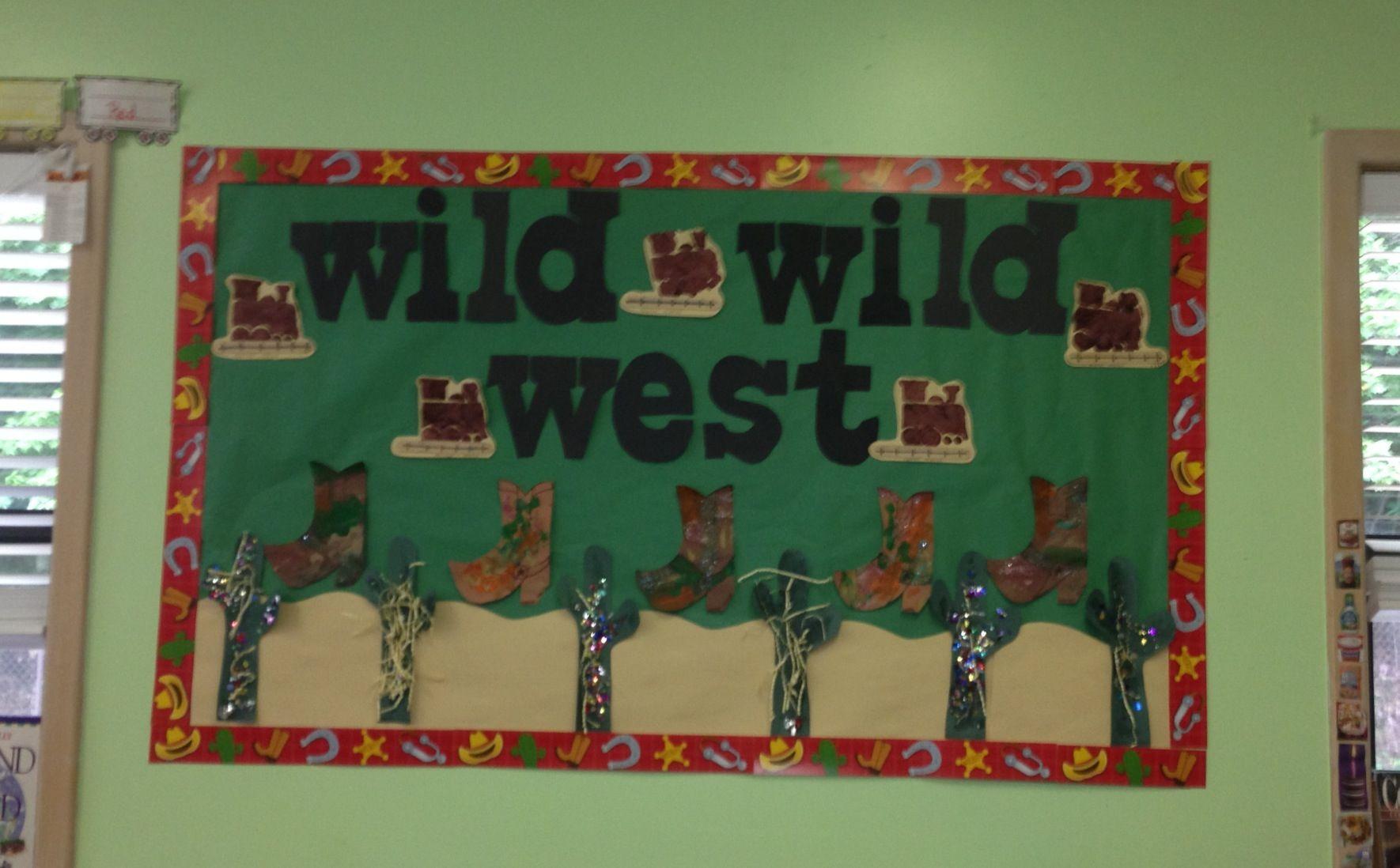 Wild Wild West Board
