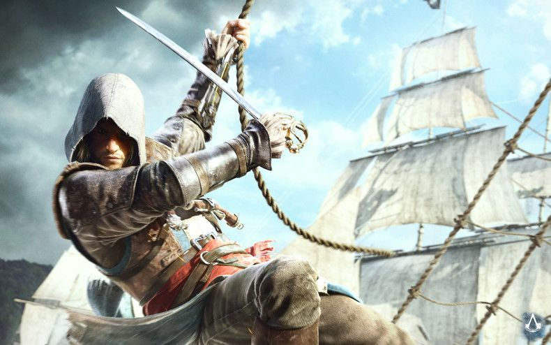 Assassin S Creed Iv Black Flag Wallpaper Edward Kenway Assassins Creed Black Flag Assassin S Creed Wallpaper Assassins Creed 4