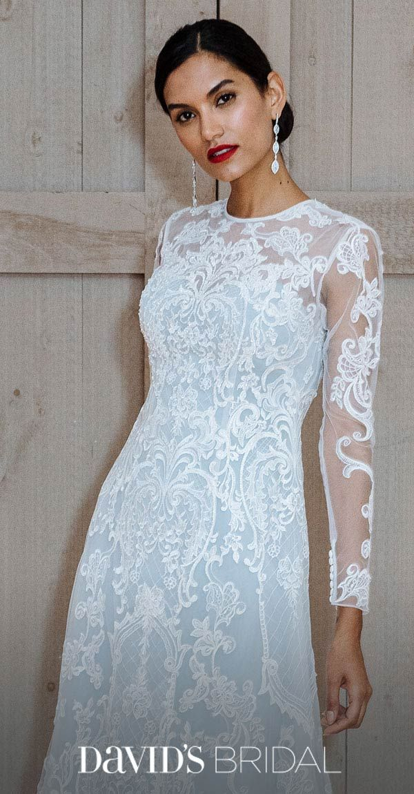 In love with color? A blush wedding dress is so romantic! But the ...