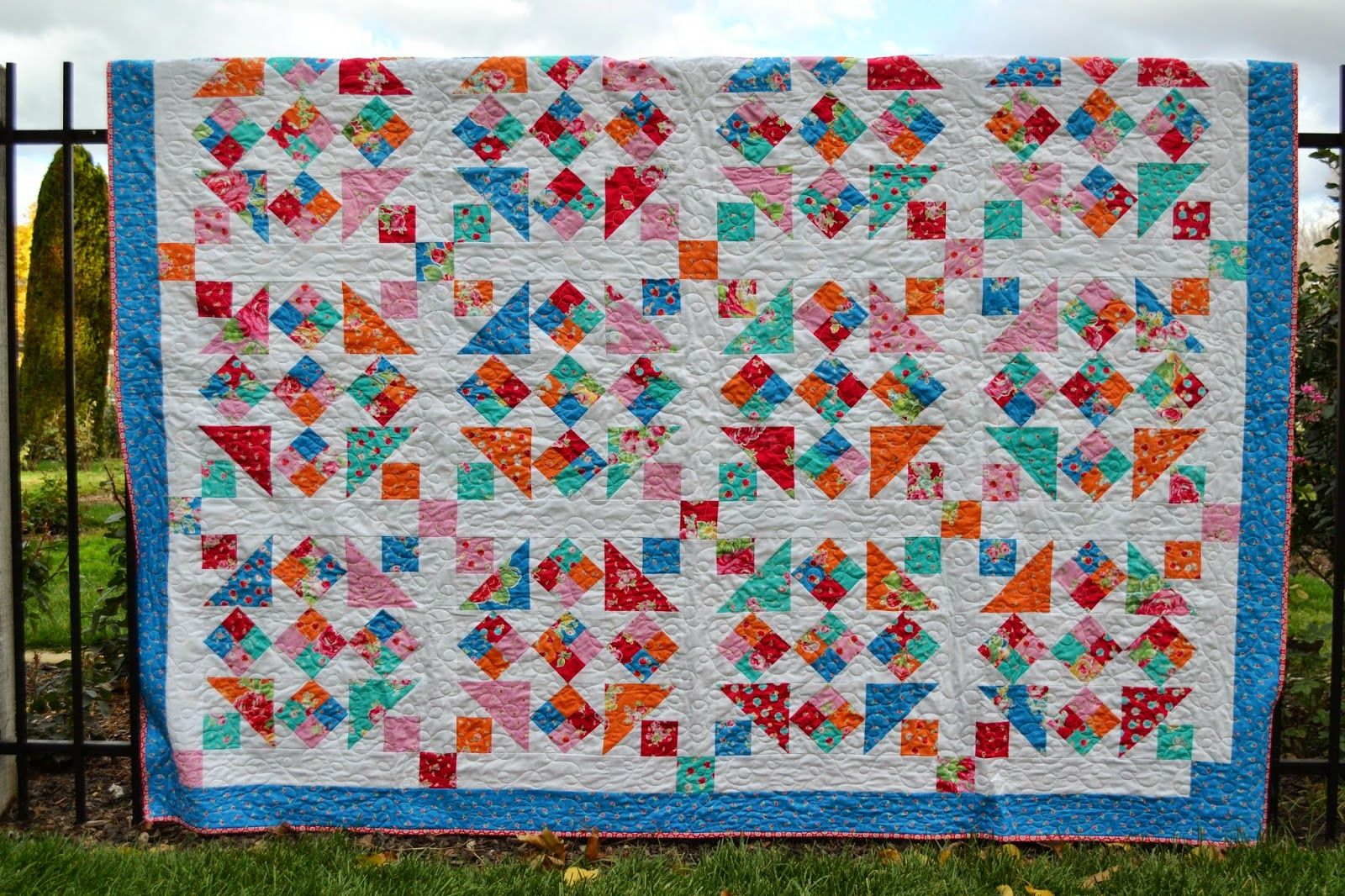 Porch Swing Quilts Friday Finish Introducing Five Spot
