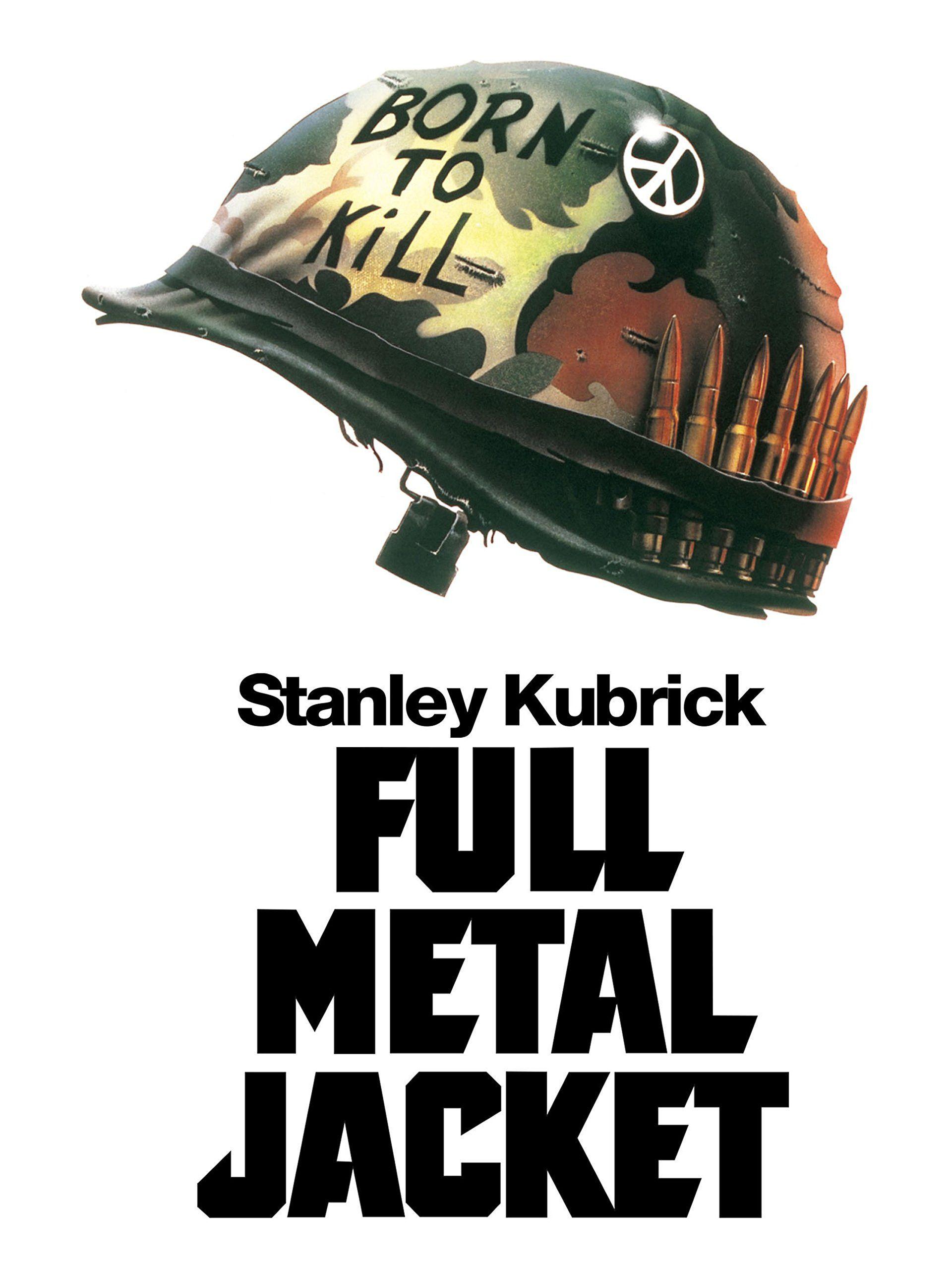 Full Metal Jacket Streaming : metal, jacket, streaming, Hollywood, Cinema, Metal, Jacket,, Stanley, Kubrick,, Streaming, Movies, Online