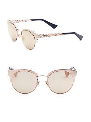 471fef9240d9 DIOR Diorama Mini 54MM Mirrored Cat Eye Sunglasses.  dior