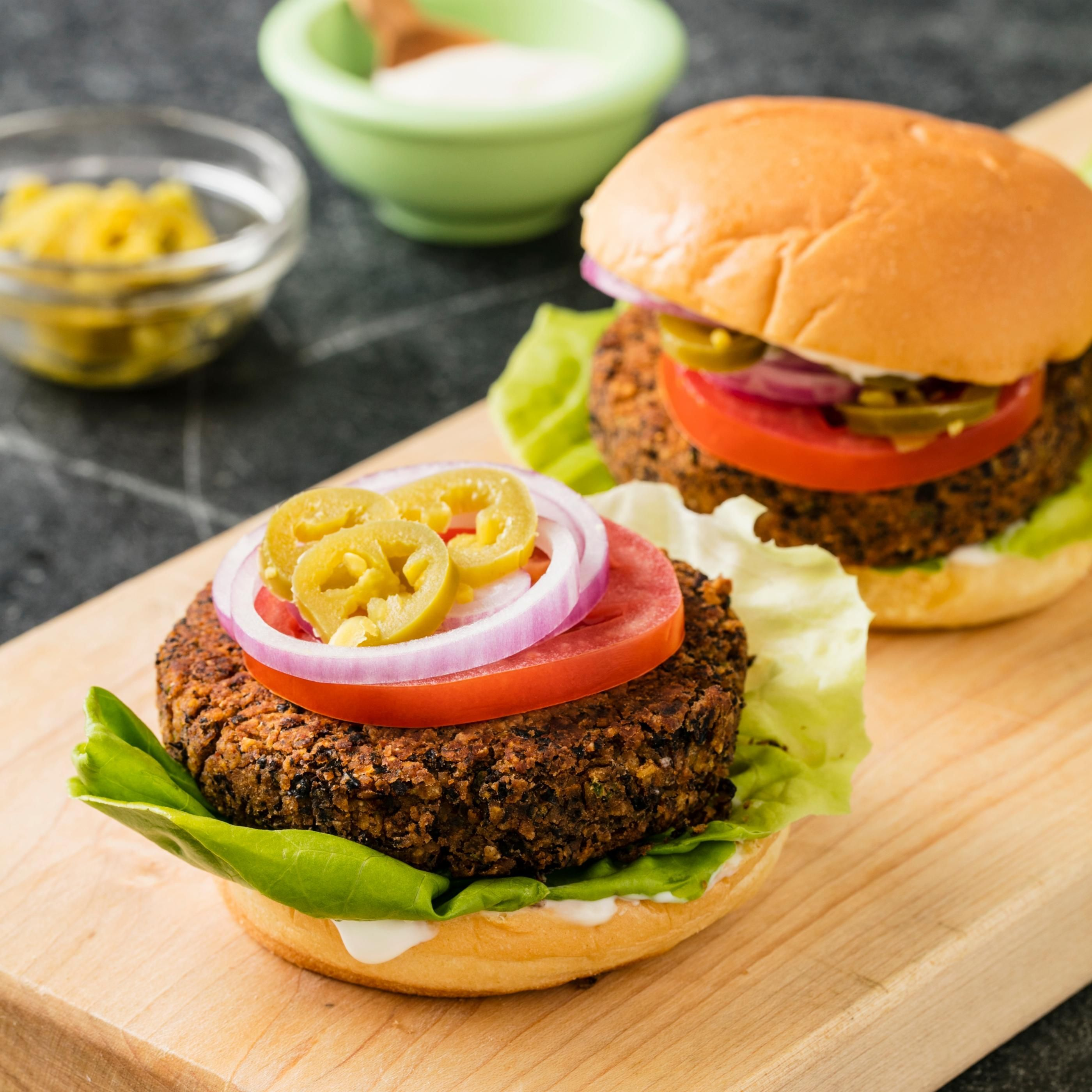 Black Bean Burgers. For Great-tasting, Cohesive Burgers