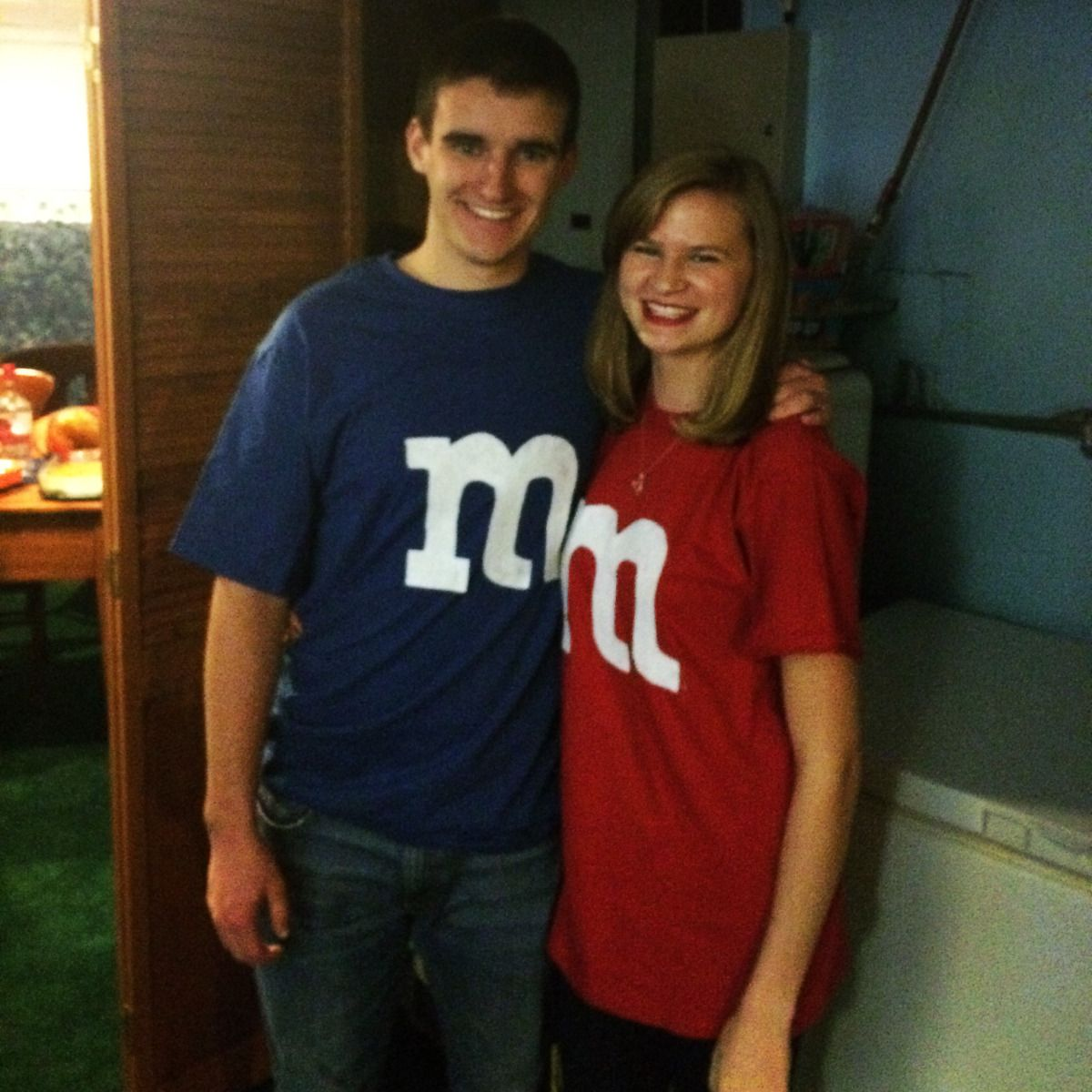 DIY Couples M&M Costume! #mamp;mcostumediy